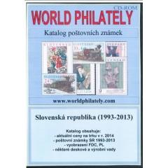 CD Katalóg poštových známok - Slovenská republika (1993-2013) - World Philately 2014