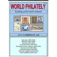 DVD katalóg poštových známok 2016 - World Philately