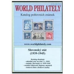CD katalóg poštových známok Slovenského štátu (1939-1945) - World Philately 2016
