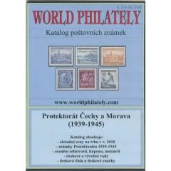 CD katalóg poštových známok Protektorátu Čiech a Moravy (1939-1945) – World Philately 2016