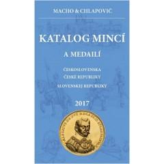 Katalóg mincí a medailí ČSR, ČR, SR 2017 - NOVINKA !