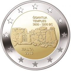 Malta - 2 Euro 2016 - Chrámy Ggantija - predpredaj