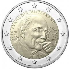 Francúzsko - 2 Euro 2016 - Francois Mitterrand