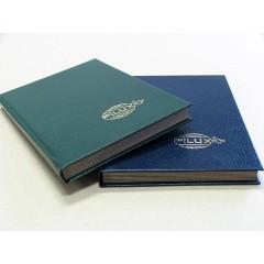 Zásobník na známky FILUX, A4, 20 listov, farba listov čierna