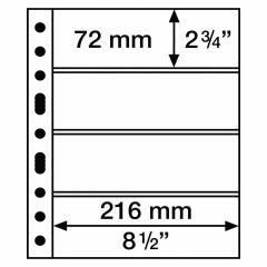 GRANDE listy - GRANDE 5 S - na poštové známky - 312953