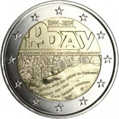 Francúzsko - 2 Euro 2014 - D-Day