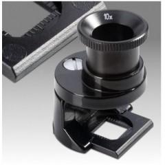 Lupa textilná kovová v krabičke - LXK 8x, 10x, 12x - D 203