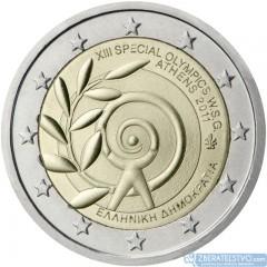 Grécko - 2 Euro 2011 - 13. špeciálna olympiáda v Aténach