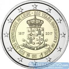 Belgicko - 2 Euro - 2017 - 200. výročie založenia univerzity v Liege