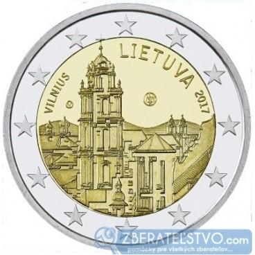 Litva - 2 Euro 2017 - Vilnius - kultúrne a umelecké hlavné mesto štátu