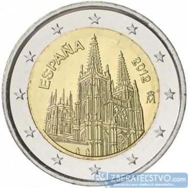 Španielsko - 2 Euro 2012 - katedrála Burgos