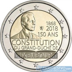 Luxembursko - 2 Euro 2018 - 150. výročie luxemburskej ústavy