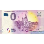 0 Euro Souvenir Slovensko 2018 Banská Bystrica Barbakan