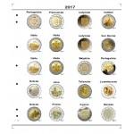 Farebné listy na pamätné 2 euro mince