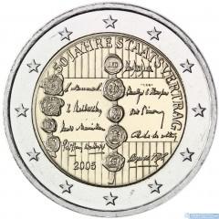 Rakúsko 2 Euro 2005 - 50. výročie rakúskej štátnej zmluvy