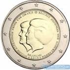 Holandsko - 2 Euro 2013 - Oznámenie Jej veličenstva kráľovnej Beatrix o odstúpení z trónu
