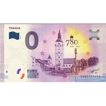 0 Euro Souvenir Slovensko EEBG-2018-1 - TRNAVA