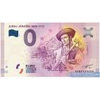 0 Euro Souvenir Slovensko EEBF-2018-1 - JURAJ JÁNOŠÍK