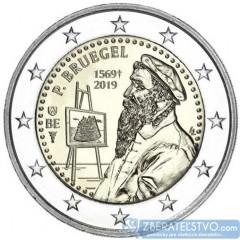 Belgicko - 2 Euro 2019 - Pieter Bruegel