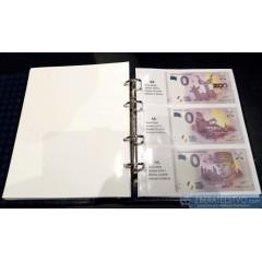 Album OPTIMA na slovenské 0 EURO SOUVENIR bankovky