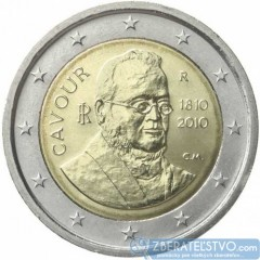 Taliansko 2 Euro 2010 - Gróf di Cavour