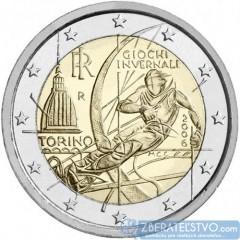 Taliansko 2 Euro 2006 - Zimné olympijské hry 2006 v Turíne
