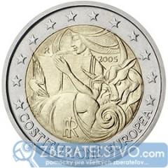 Taliansko 2 Euro 2005 - Európska ústava