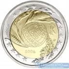 Taliansko 2 Euro 2004 - Piata dekáda Svetového potravinového programu