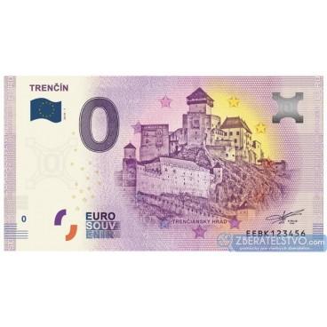 0 Euro Souvenir Slovensko EEBK-2019-1 - Slovensko - TRENČÍN - vydanie bez chyby