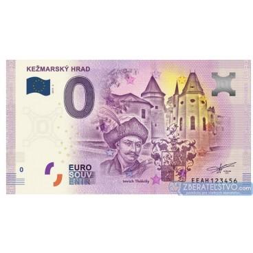 0 Euro Souvenir Slovensko EEAH-2019-2 - Slovensko - KEŽMARSKÝ HRAD
