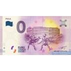0 Euro Souvenir Chorvátsko HRAB-2019-1 - PULA - predpredaj