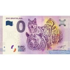 0 Euro Souvenir Slovensko EEAE-2018-1 - ZOO Bratislava