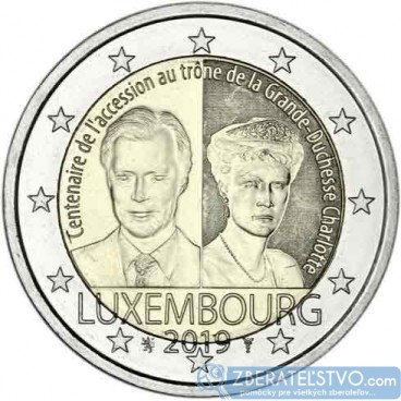 Luxembursko - 2 Euro 2019 - Charlotte