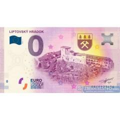 0 Euro Souvenir Slovensko EECF-2019-1 - LIPTOVSKÝ HRÁDOK
