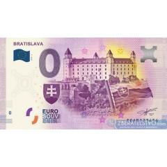 0 Euro Souvenir Slovensko EEAB-2019-2 - Bratislava - Bratislavský hrad