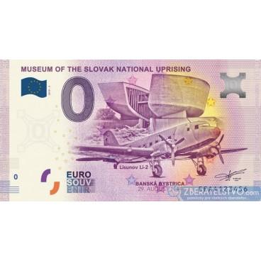 0 Euro Souvenir Slovensko EEAA-2019-3 - Múzeum SNP v Banskej Bystrici - Lietadlo