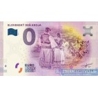 0 Euro Souvenir Slovensko EECG-2019-1 - SLOVENSKÝ DEŇ KROJA