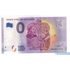 0 Euro Souvenir Bulharsko BGAA-2019-1 - Cyril a Metod