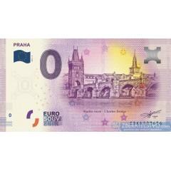 0 Euro Souvenir Česká Republika CZAA-2019-2 - Praha Karlov Most