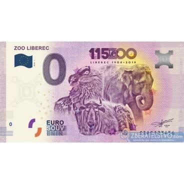 0 Euro Souvenir Česká Republika CZAC-2019-1 - ZOO LIBEREC
