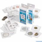 Rámčeky na mince samolepiace  27,5 mm - 100 ks - 334039