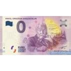0 Euro Souvenir Slovensko EECB-2019-1 - PAVOL ORSZÁGH HVIEZDOSLAV