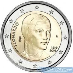 Taliansko 2 Euro 2019 - Leonardo da Vinci