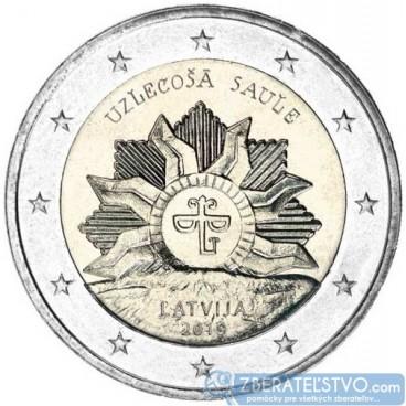Lotyšsko 2 Euro 2019 - Národný znak