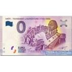 "Haiti - 0 Euro Souvenir 2019 - HTAA - ""Čierny Napoleon"" Toussaint L´Ouverture 2019-1"
