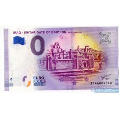 0 Euro Souvenir Irak IQAA-2019-1 - Iraq Ishtar Gate of Babylon '' 2019