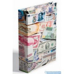Album na bankovky - na 300 ks bankoviek
