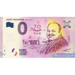 0 Euro Souvenir Slovensko EECM-2019-1 - JOZEF BEDNÁRIK