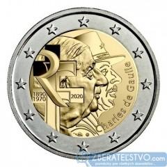 Francúzsko - 2 Euro 2020 - Charles de Gaulle