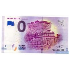 0 Euro Souvenir Malta FEAE-2019-1 - Mdina Malta The Silent City